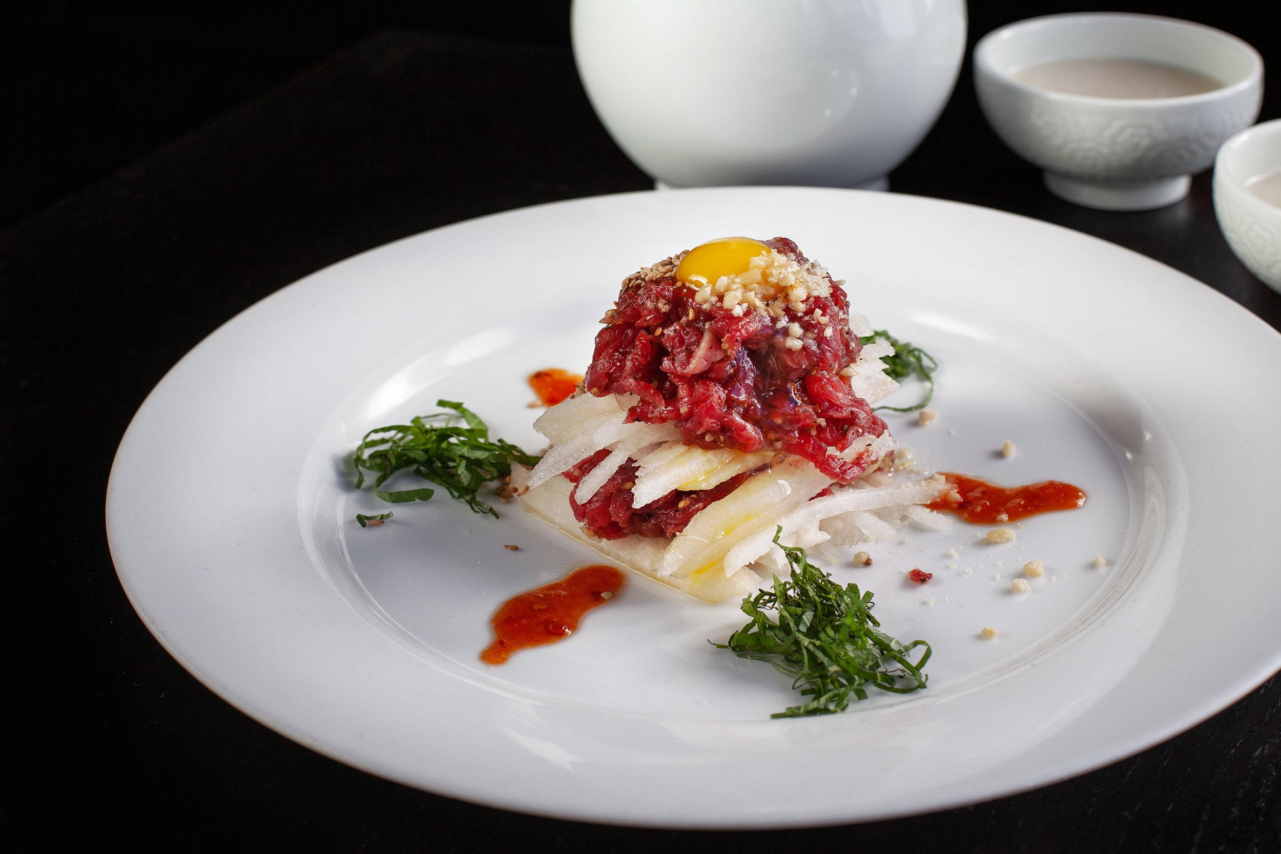 yook hwe - Beef Carpaccio