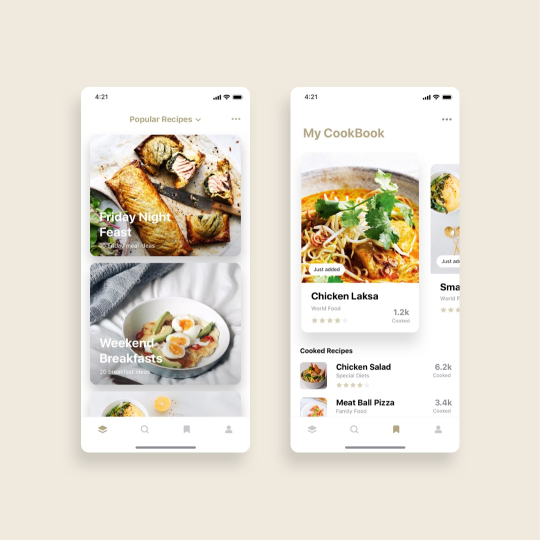 Good Food Recipes App