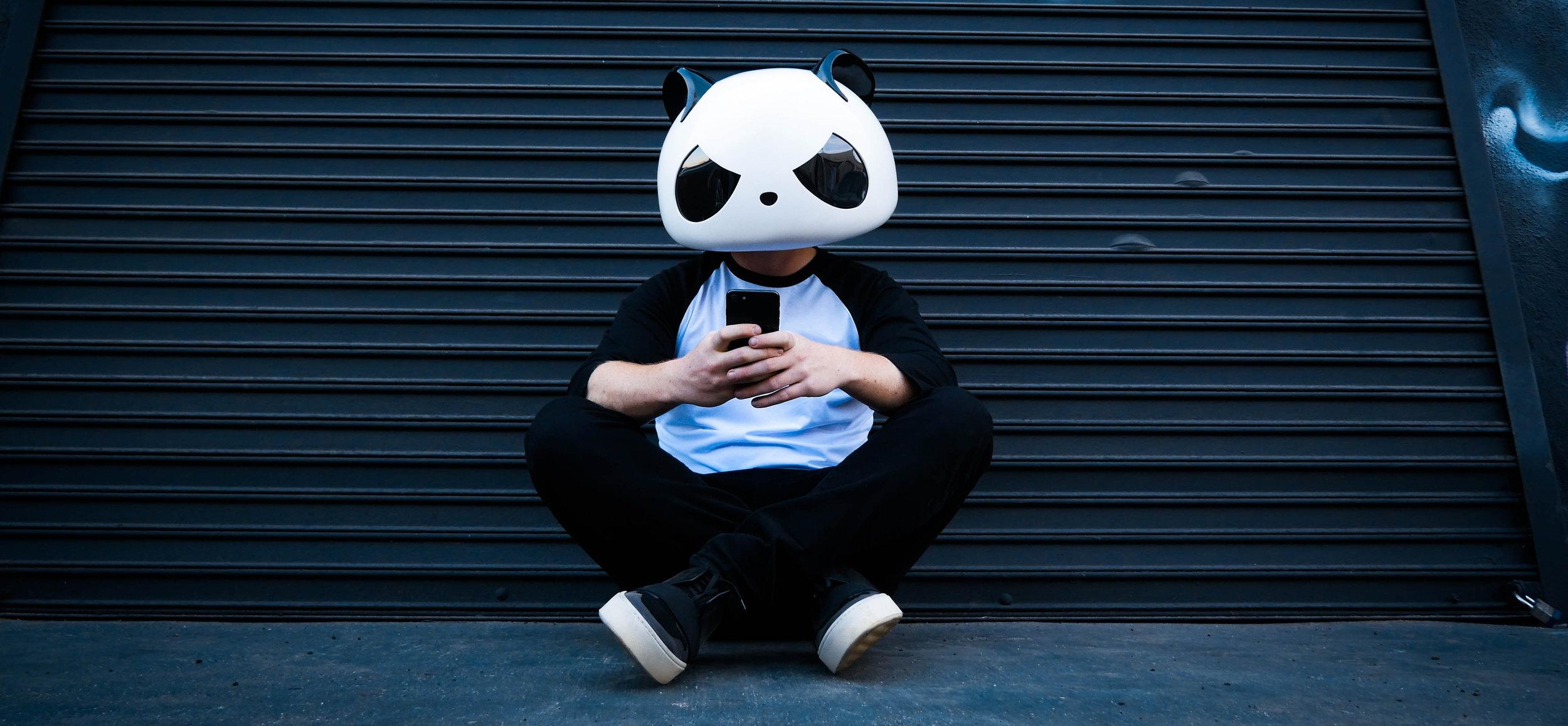DJ White Panda