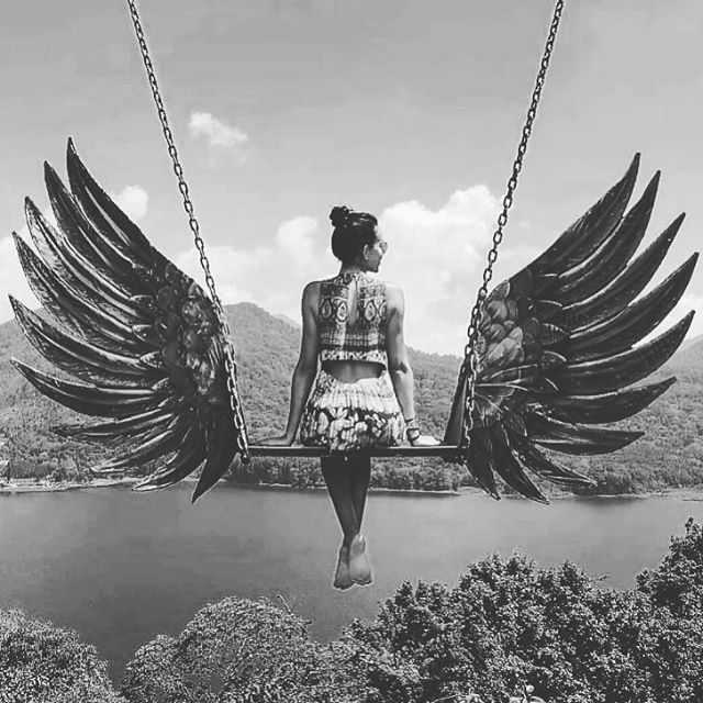 Wings of freedom #wisherworld #makeawish #wisher  #nature #freedom #wings #play #playground #fun