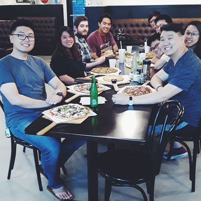 It's summer but some of us are still around UT! Pizza Press dinners, boba runs & Bible studies are still happening - join us! DM for deets 🍕🤘🔥😎 #ut2023 #utorientation19 #biblestudy #fellowship #pizzatime