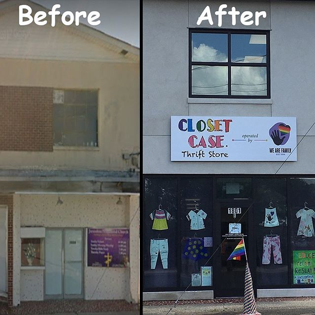 How about this for #TransformationTuesday!  We Are Family could not have done this without the love, donations, and support of the community. Help us continue our mission by becoming a sustaining today!