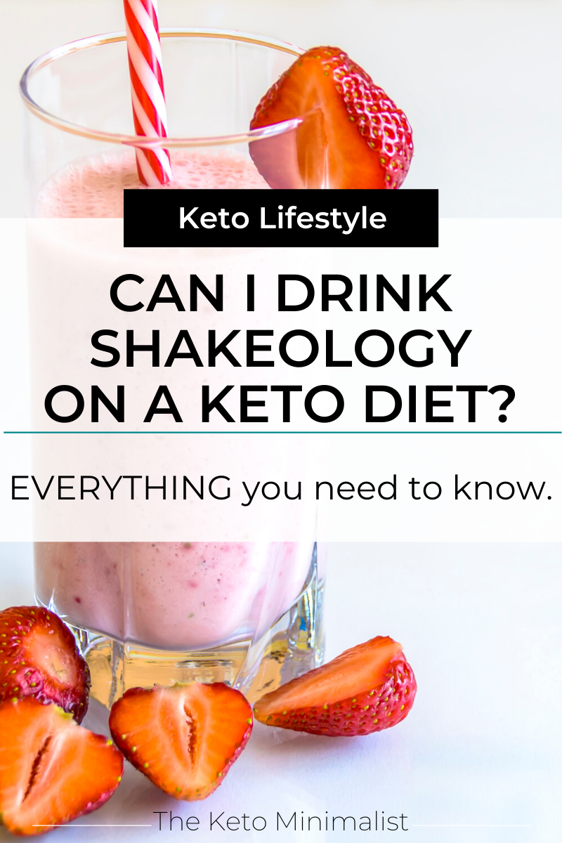 Can I Drink Shakeology On A Keto Diet Everything You Need To Know The Keto Minimalist