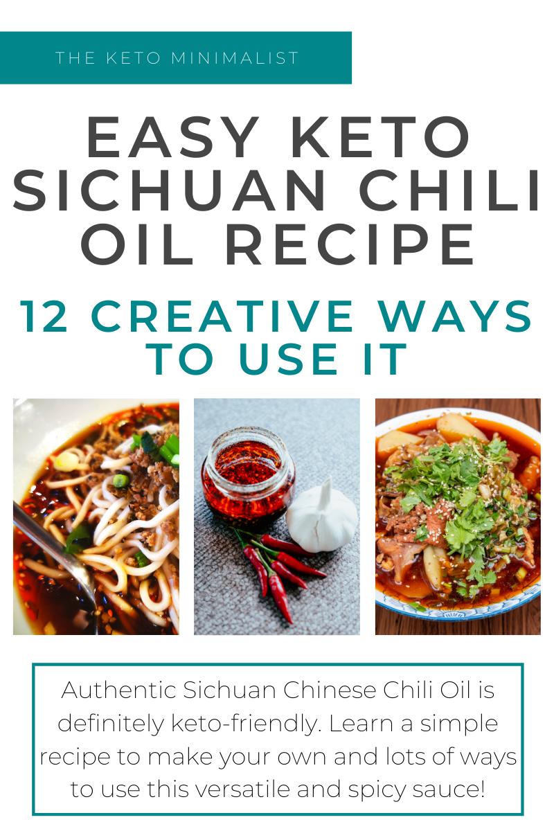Easy Keto Sichuan Chili Oil Recipe And 12 Creative Ways To Use It The Keto Minimalist