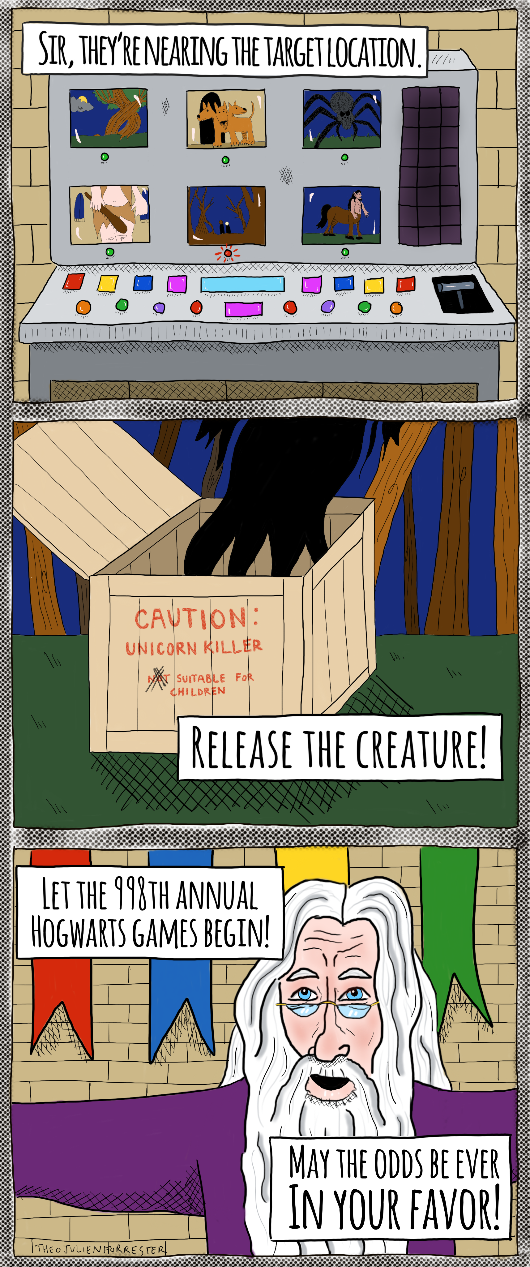 Release the Creature: Inspired by Episode 8B