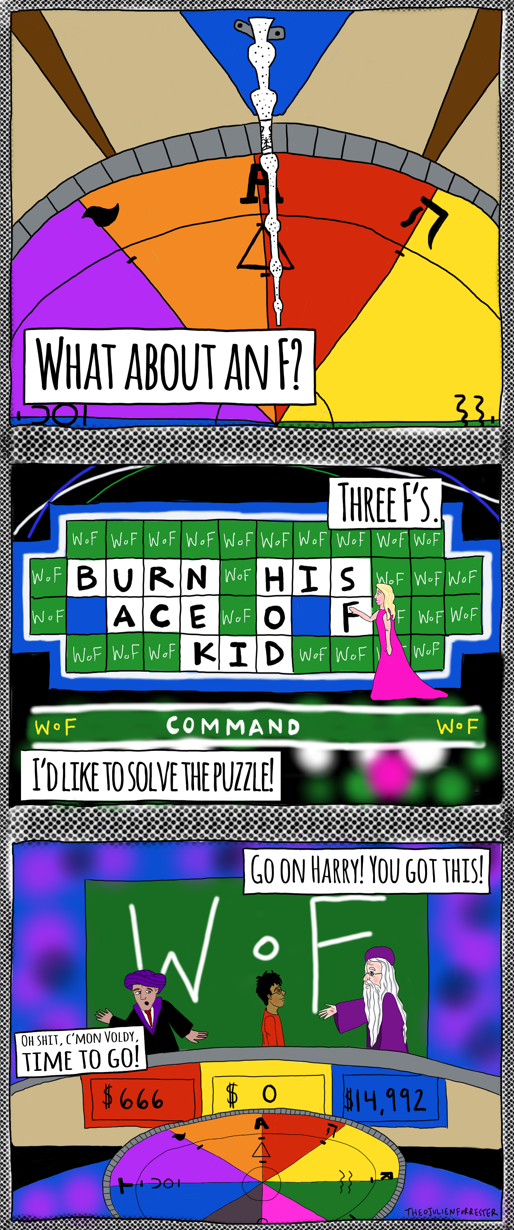 Wheel of fortune: Inspired by episode 11