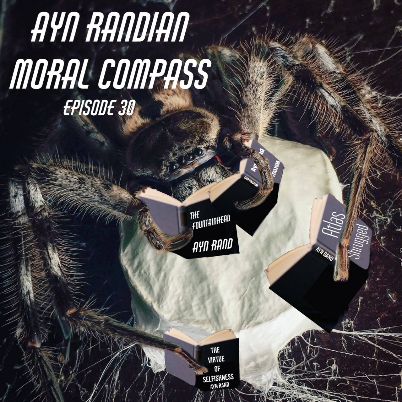 spider-reading-ayn-rand
