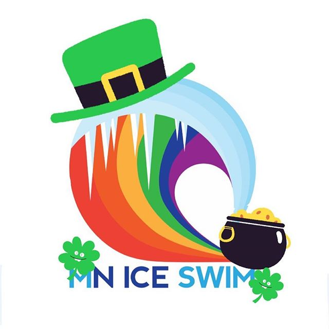 Happy St. Patrick's Day!🍀🌈 See you at practice today at 1:30pm - maybe you'll get lucky and not get a kick set today! 😜😂 . . . #mniceswimclub #usms #mastersswimming #queerswimteam #gay #swimming #stpatricksday #minneapolis #minnesota