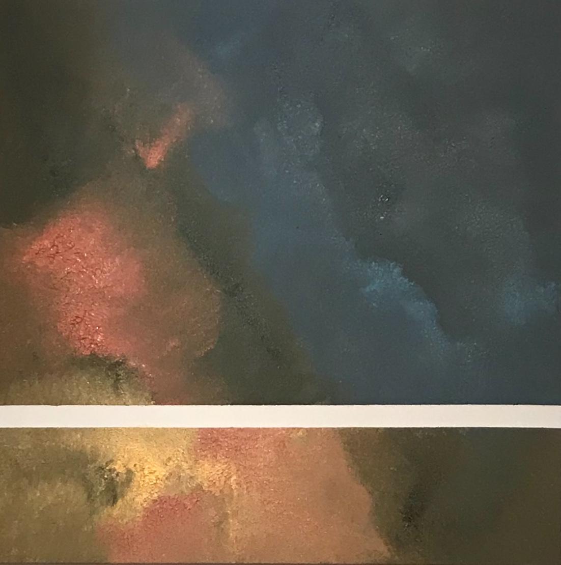 Oil sponged on canvas: 36x48