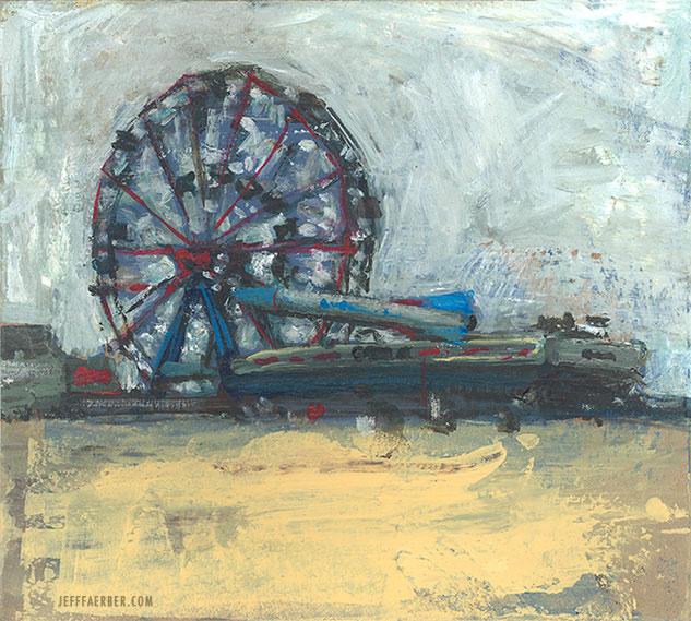 Rocketship and Wonderwheel