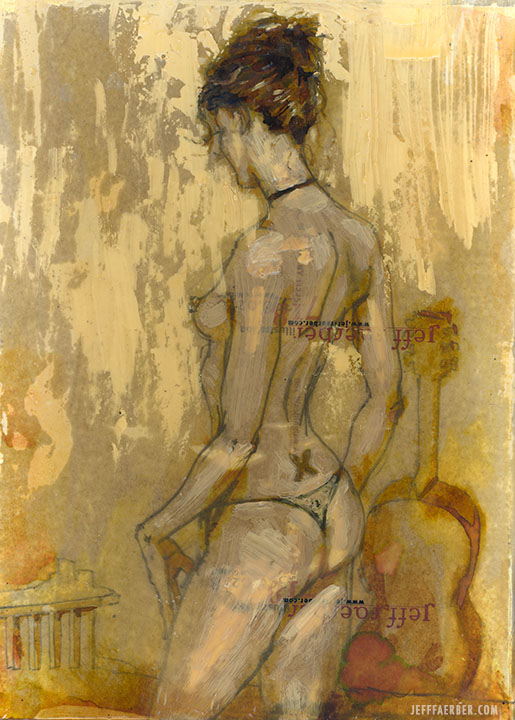 Yellow Nude II