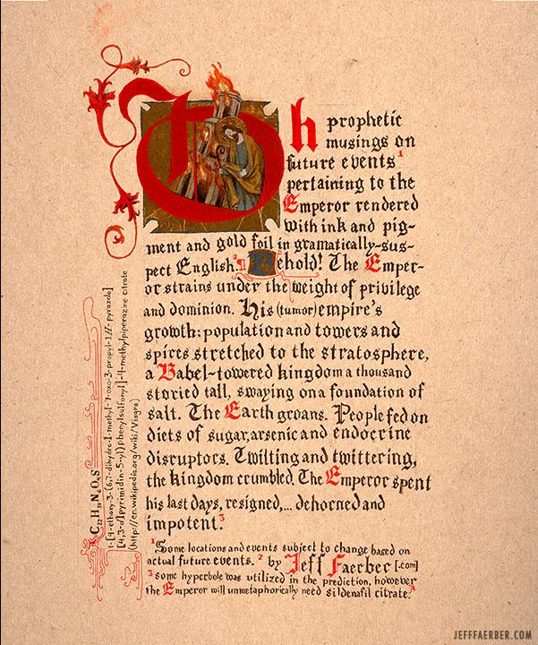 Emperor Text
