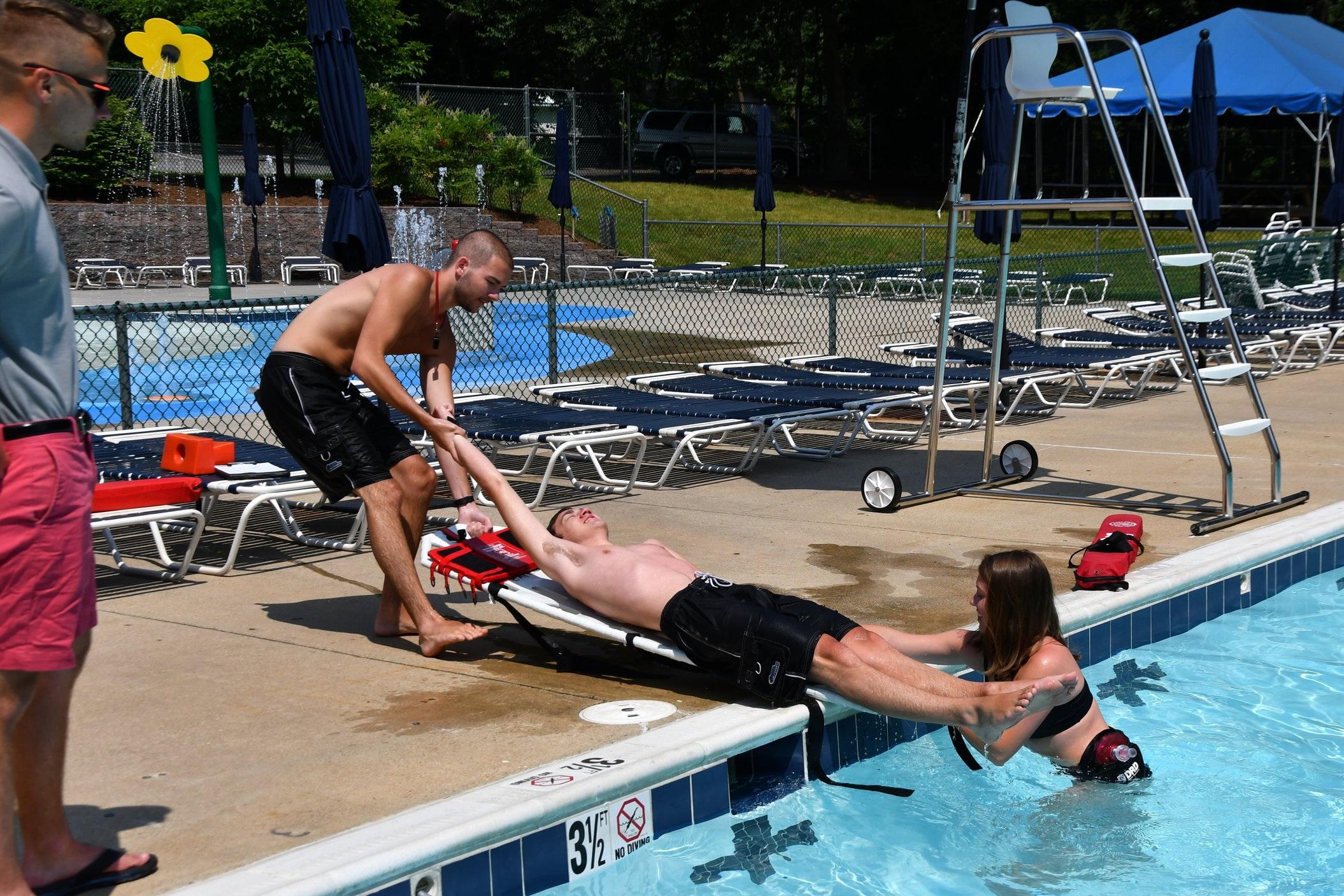Lifeguard Training -