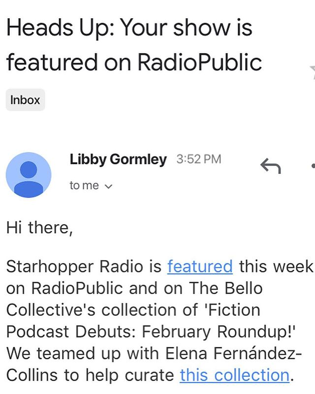 Happy news! We're featured on RadioPublic's list of February debuts!! Make sure to check out the other shows listed alongside us!