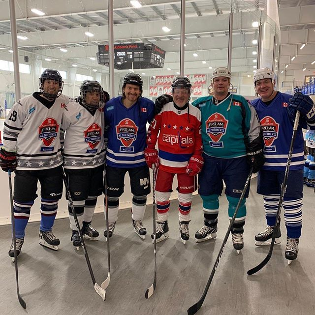 Had a blast playing at the 2019 @scotiabank Pro-Am for Alzheimer's in support of @baycrest 😊 #nhlalumni #stickit2alz