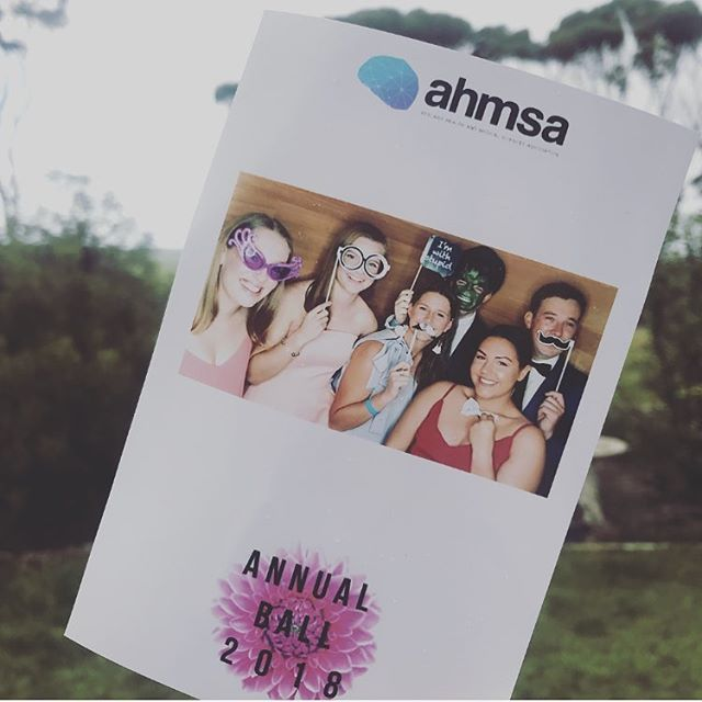 A big thank you to @hashtaginstaprints2 📸 Photos from the photo booth can be found on our Facebook page or search #ahmsa2018 All the other photos from the night will be up soon 😊