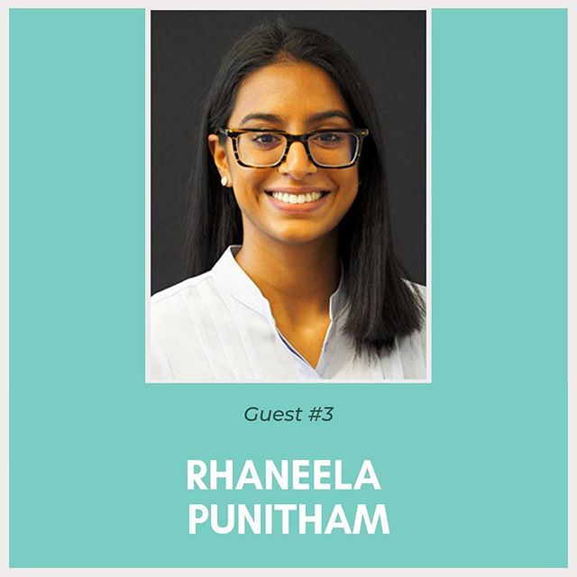 Introducing our third guest for the Student Networking Workshop: Rhaneela Punitham! ⠀⠀⠀⠀⠀ Can you guess what she does? Here's some hints: 👩‍🎓💻🚫