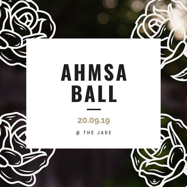 Just under a month until the annual AHMSA Ball! Grab your tickets today so you don't miss out... last year we sold out 😱  https://www.facebook.com/events/347412275954591/?ti=ia