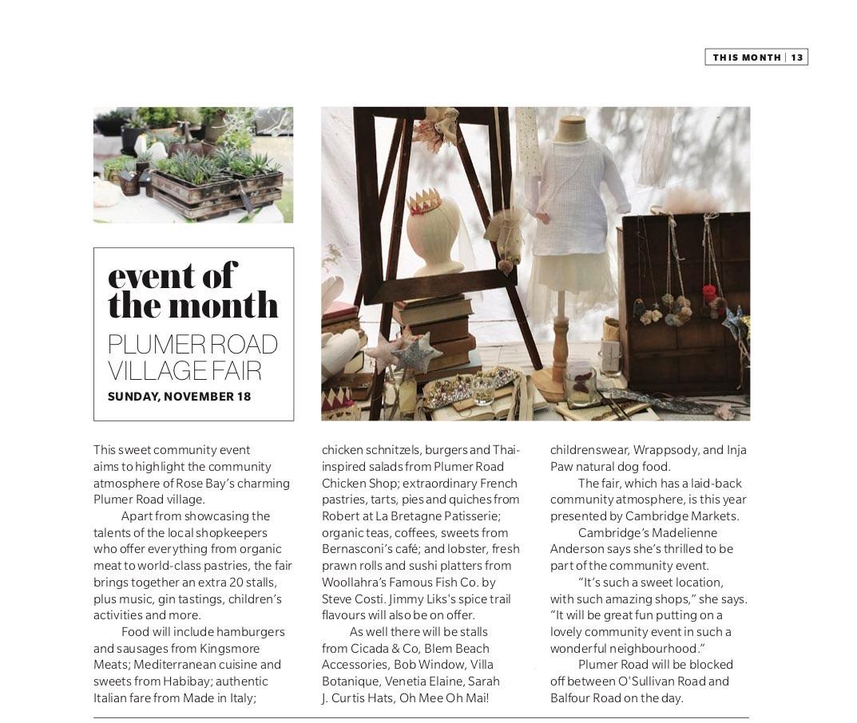 Local East magazine November 2018