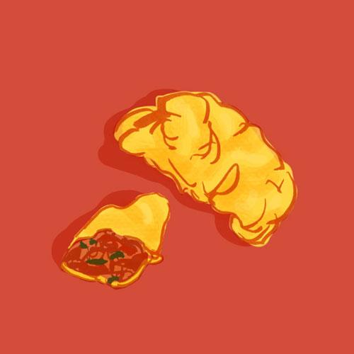 Guagdong Dim Sum: Toufu Dumpling