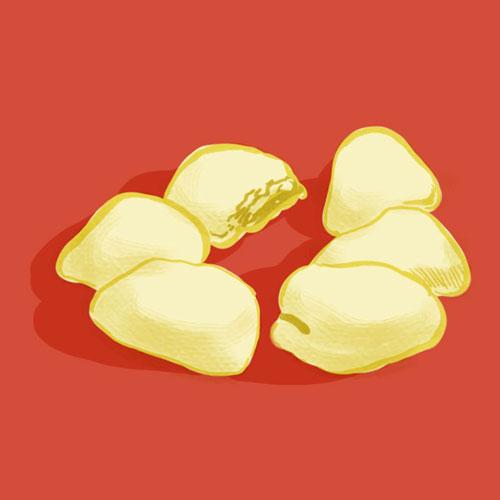 Gusngdong Dim Sum: White Bun