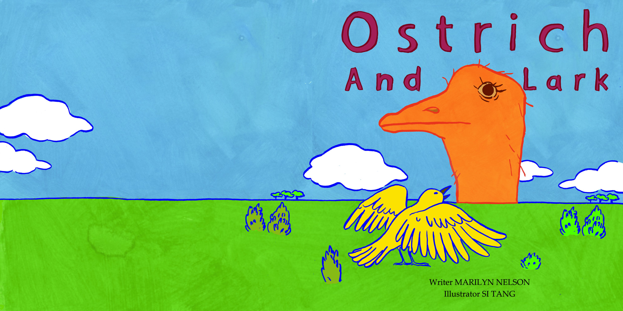 Children's Book: Ostrich and Lark (2018)