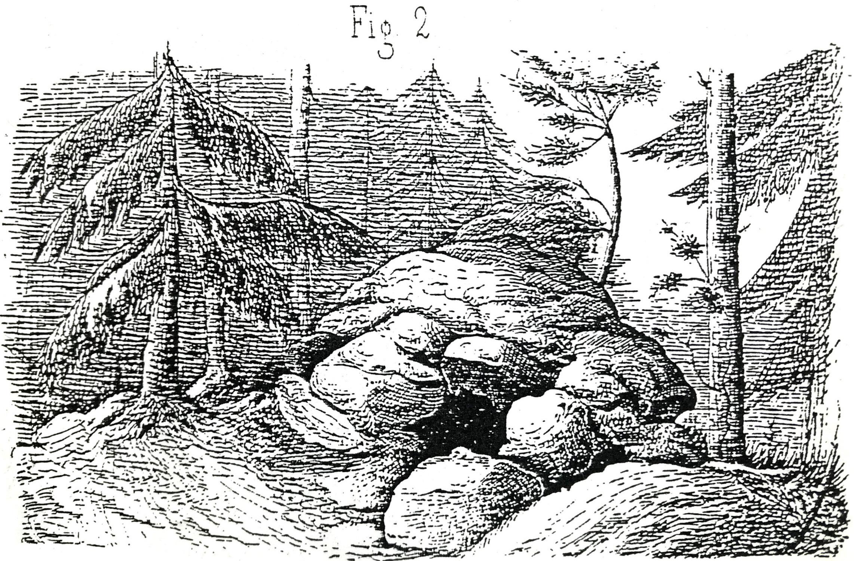 Ryssugn på Stor-Pellingelandet, Borgå socken, Finland. Freudenthal, 1874