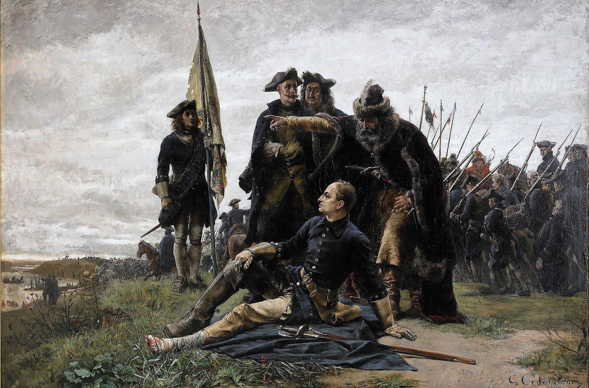 STORA NORDISKA KRIGET - Kampen om Östersjön