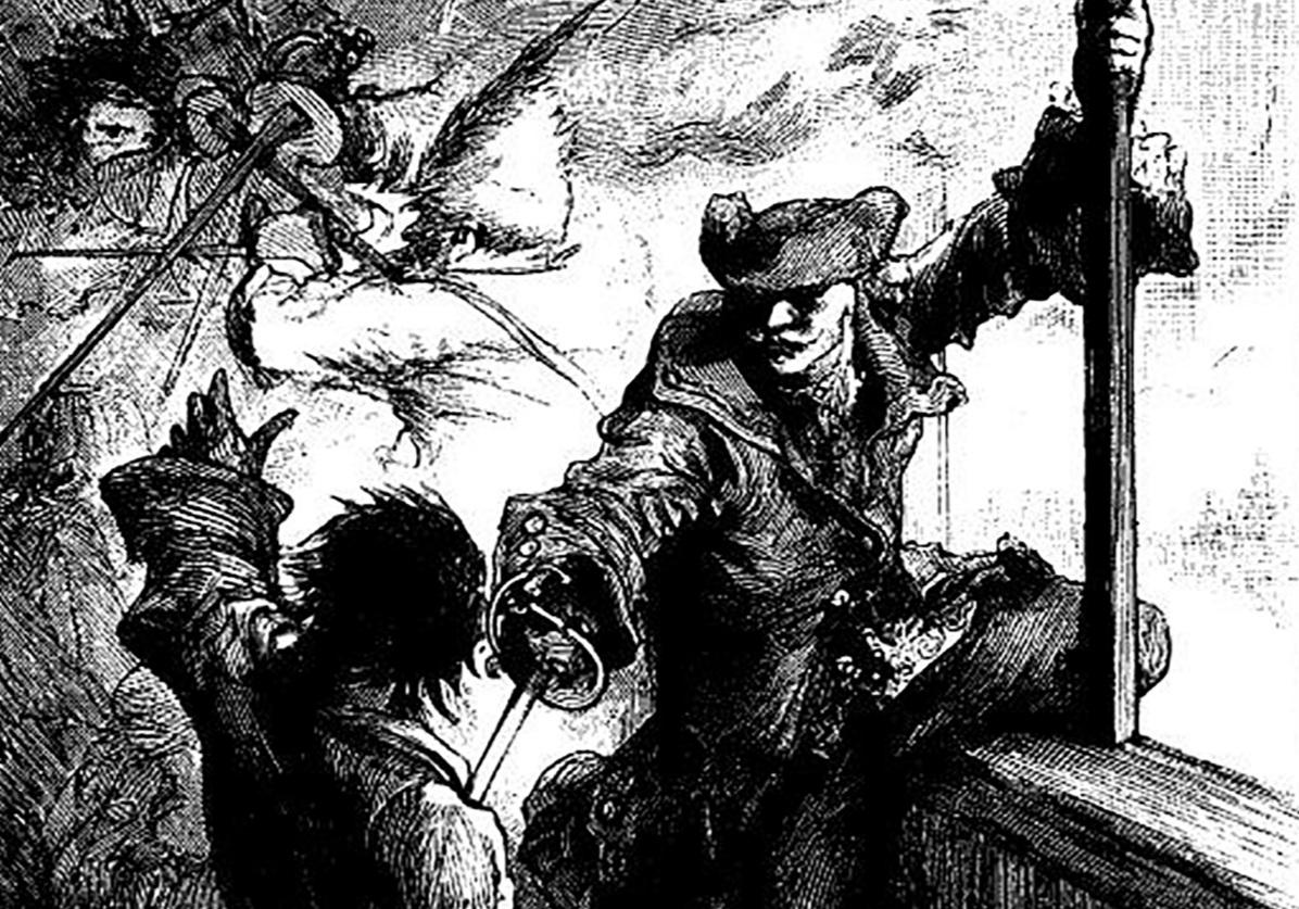 Någon sammandrabbning blev det inte vid Lindalssundet när Stefan Löfving enligt egen uppgift skrämde iväg ryssarna på egen hand. Berättelsen visar starka likheter med andra sägner som berättas i skärgården. Det dramatiska porträttet är gjort av Carl Larsson.