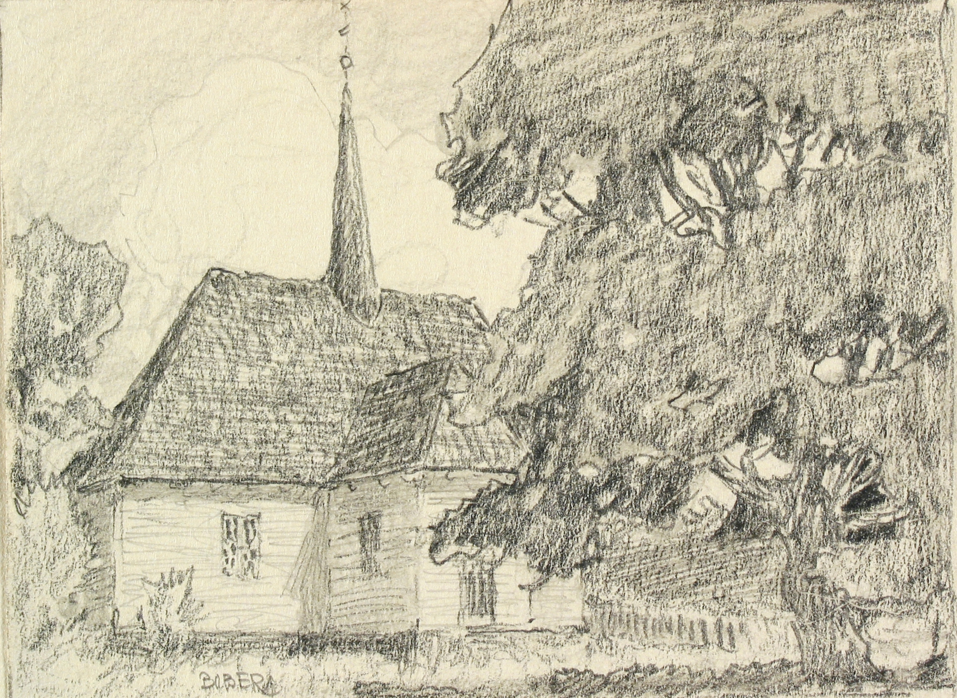 Djurö kyrka, 1923, Ferdinand Boberg