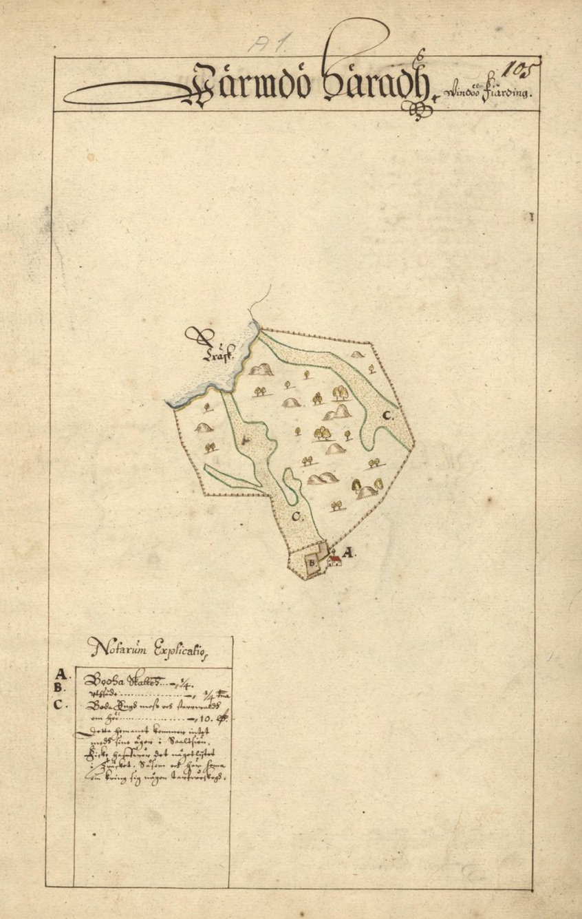Bodatorp, Vindö