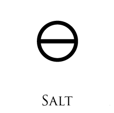 Salt of Salt: Alkaline Mineral Salts from burning the body. Salt of Sulphur: Mineral Salts obtained from burning the Fixed Sulphur