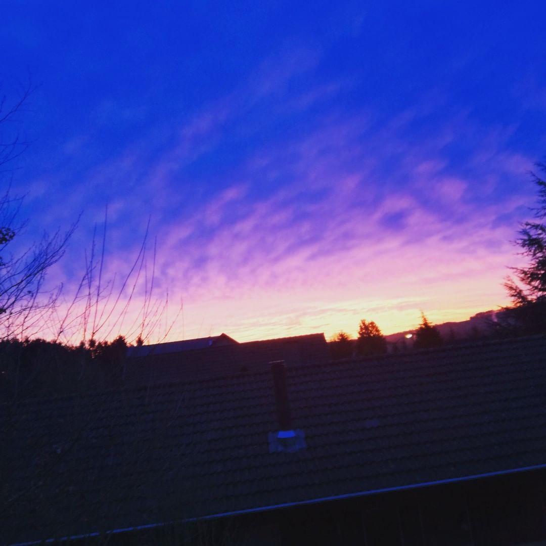 Dawn erupting out of the Darkest Night