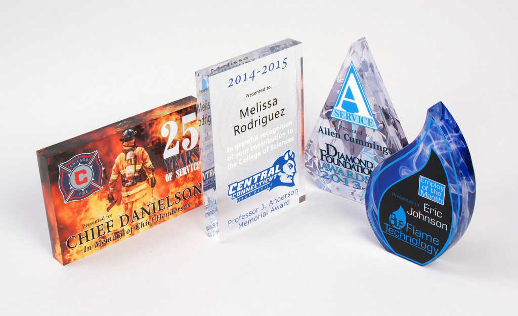 Acrylic awards   Contact for sample & more information.