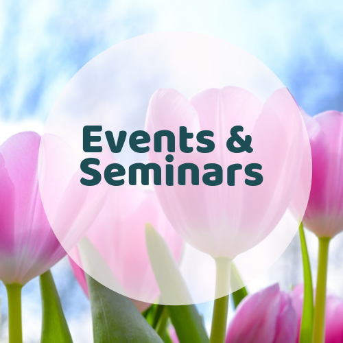 Events & seminars are done by Kay, her guests and sometimes those mediums in level 3 who need to practice their mediumship skills with a larger audience.