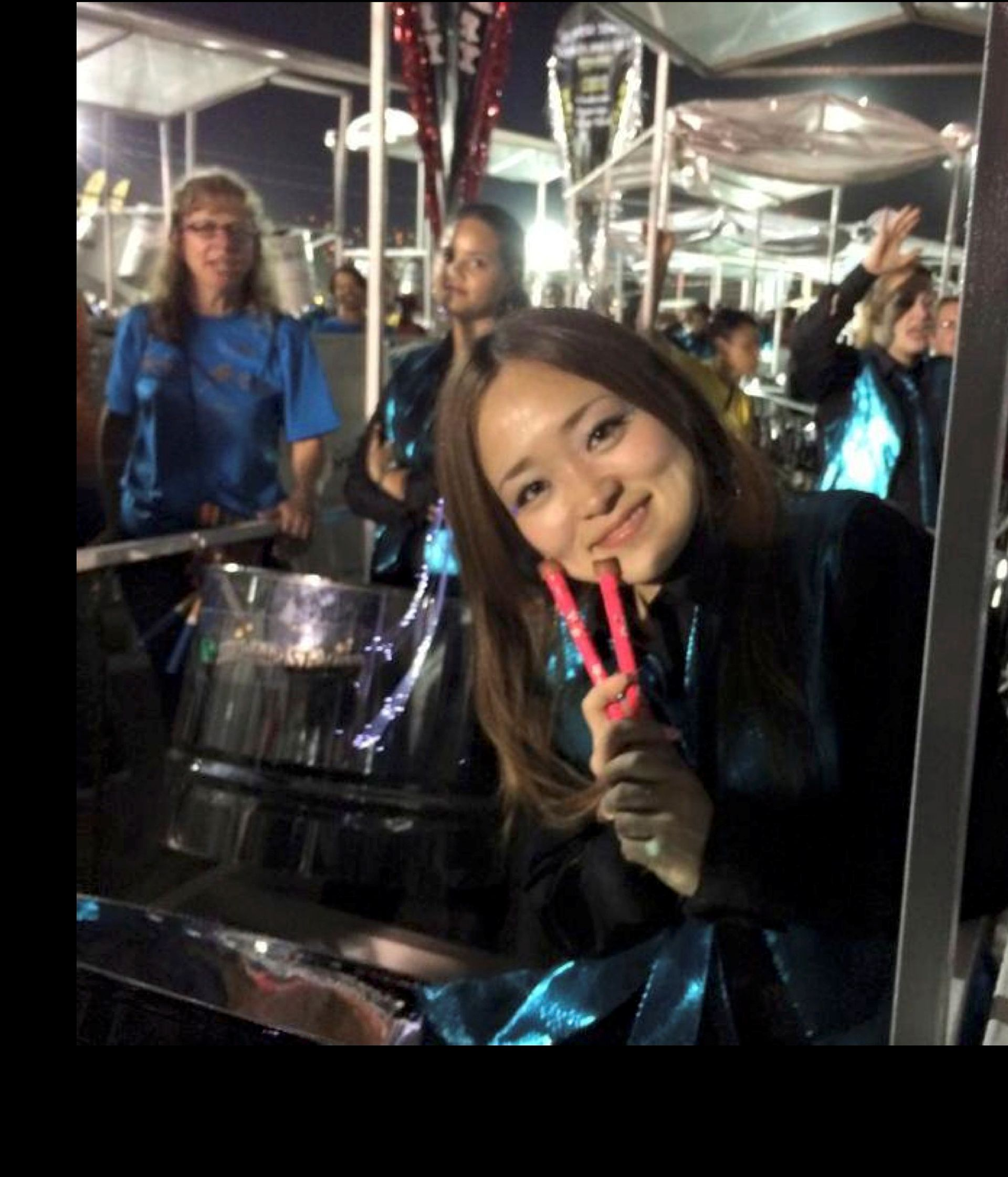 Asami Nagakiya, left, had been coming to T&T since 2009 to play with steelbands. Her body was found on February 9, 2016, in the Queen's Park Savannah.