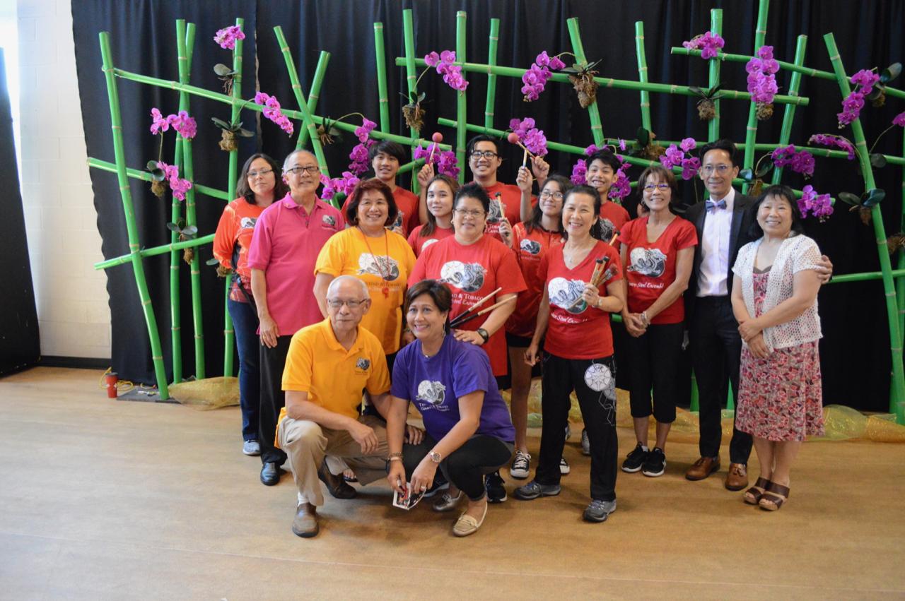 The Trinidad & Tobago Chinese Steel Ensemble (TTCSE)