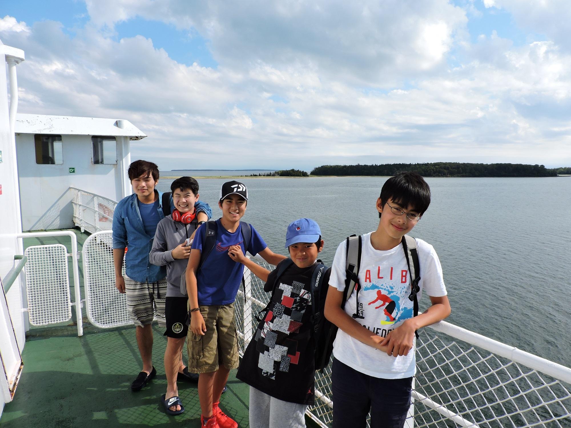 プリンスエドワード島へのフェリー