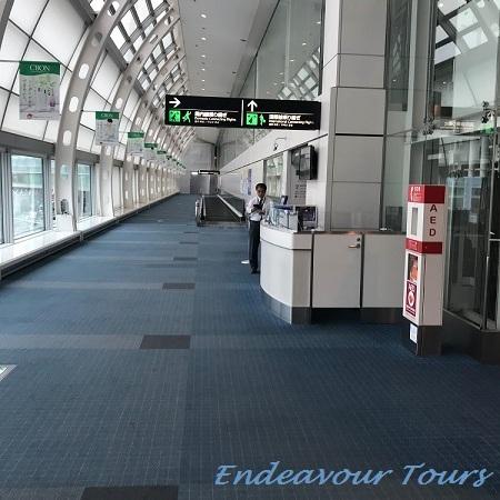 羽田到着→国際線乗り継ぎ