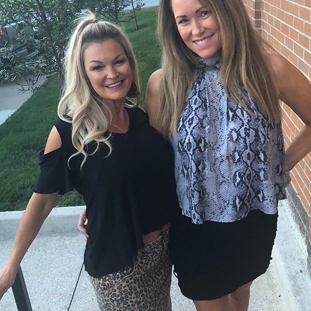 Another night of 3 Blondes Boutique from head to toe!  My best customer Stella Willa!