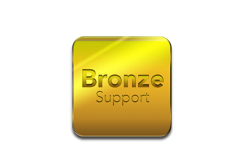 Bronze support - De standaard Eydol service, inclusief installatie, updates en technische ondersteuning vanop afstand.