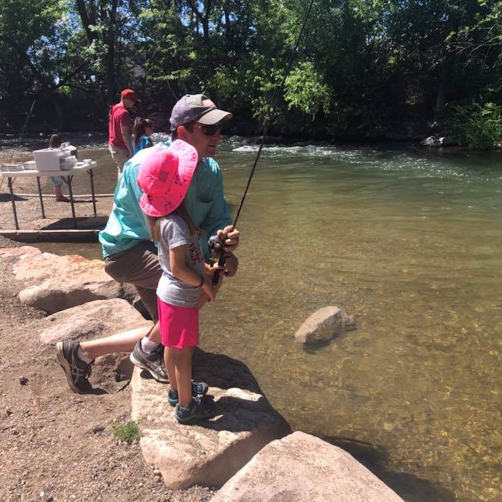 Family Fishing - Fishing's FutureTry your luck at fishing and practice your casting. Bring the whole family, kids (all ages), to share in a fun fishing event on our beautiful Ogden River.Equipment will be provided and under 12 years old do not need a license.Near the Grant Avenue checkpoint.