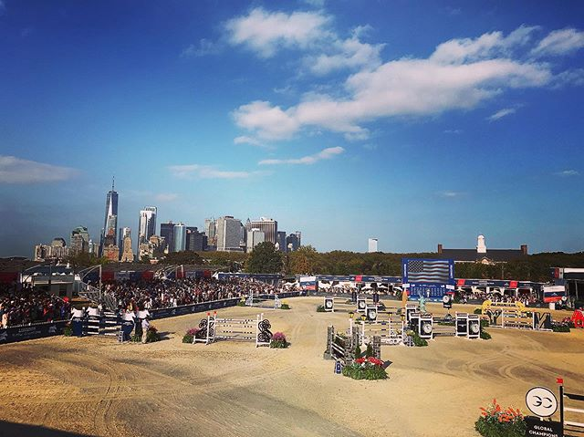 Perfect day for a @longinesglobalchampionstour  tour! #opsevents