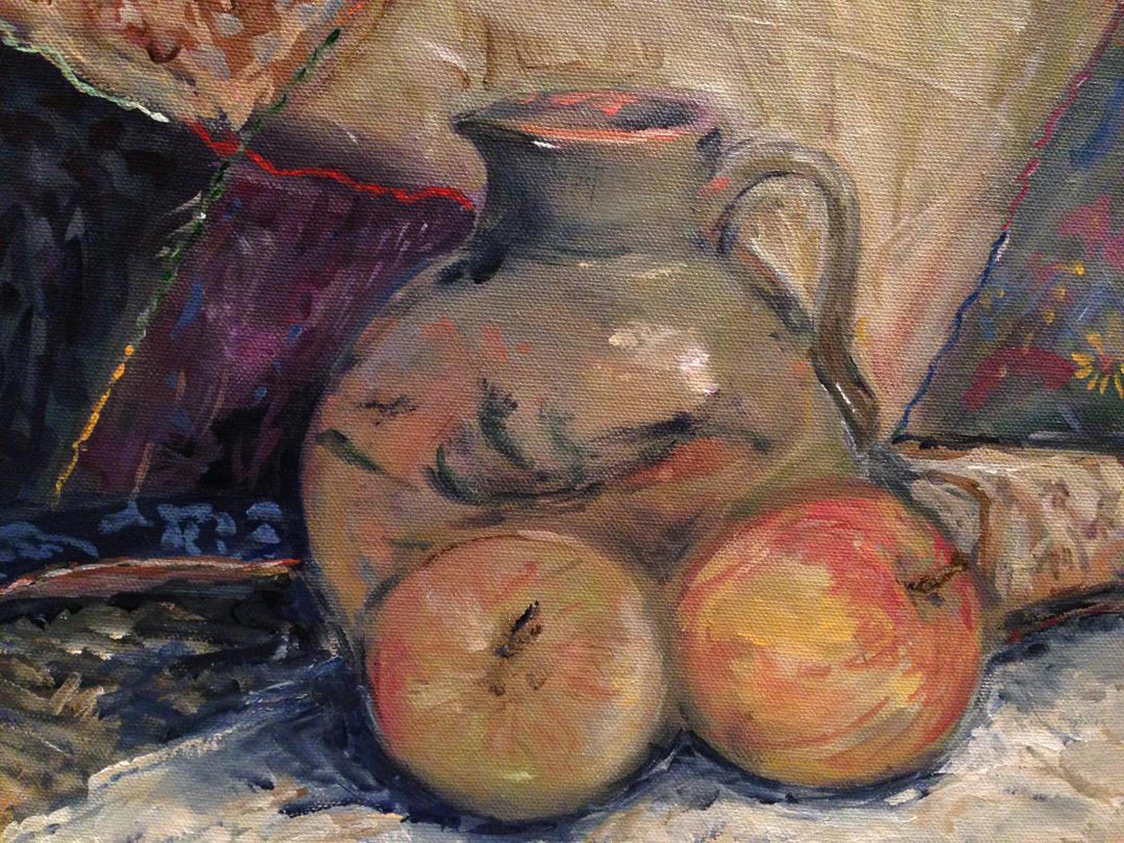 Still life with green jug (sold)
