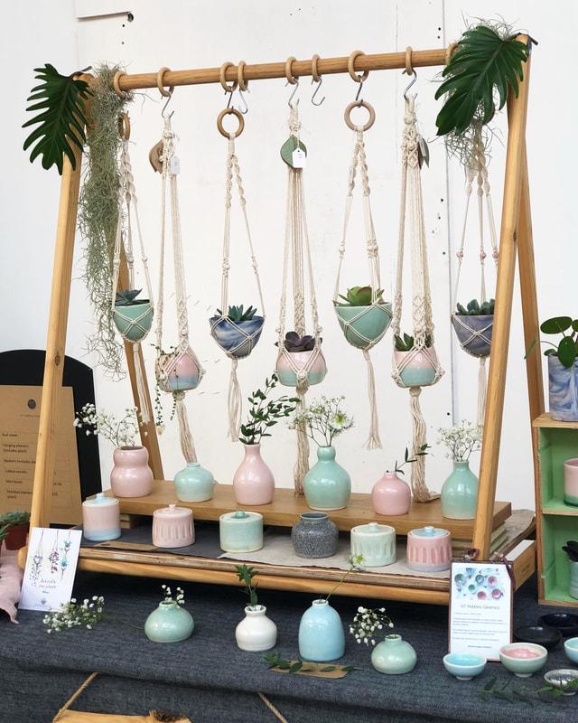 Display at Paperdolls Handmade; Summer 2018