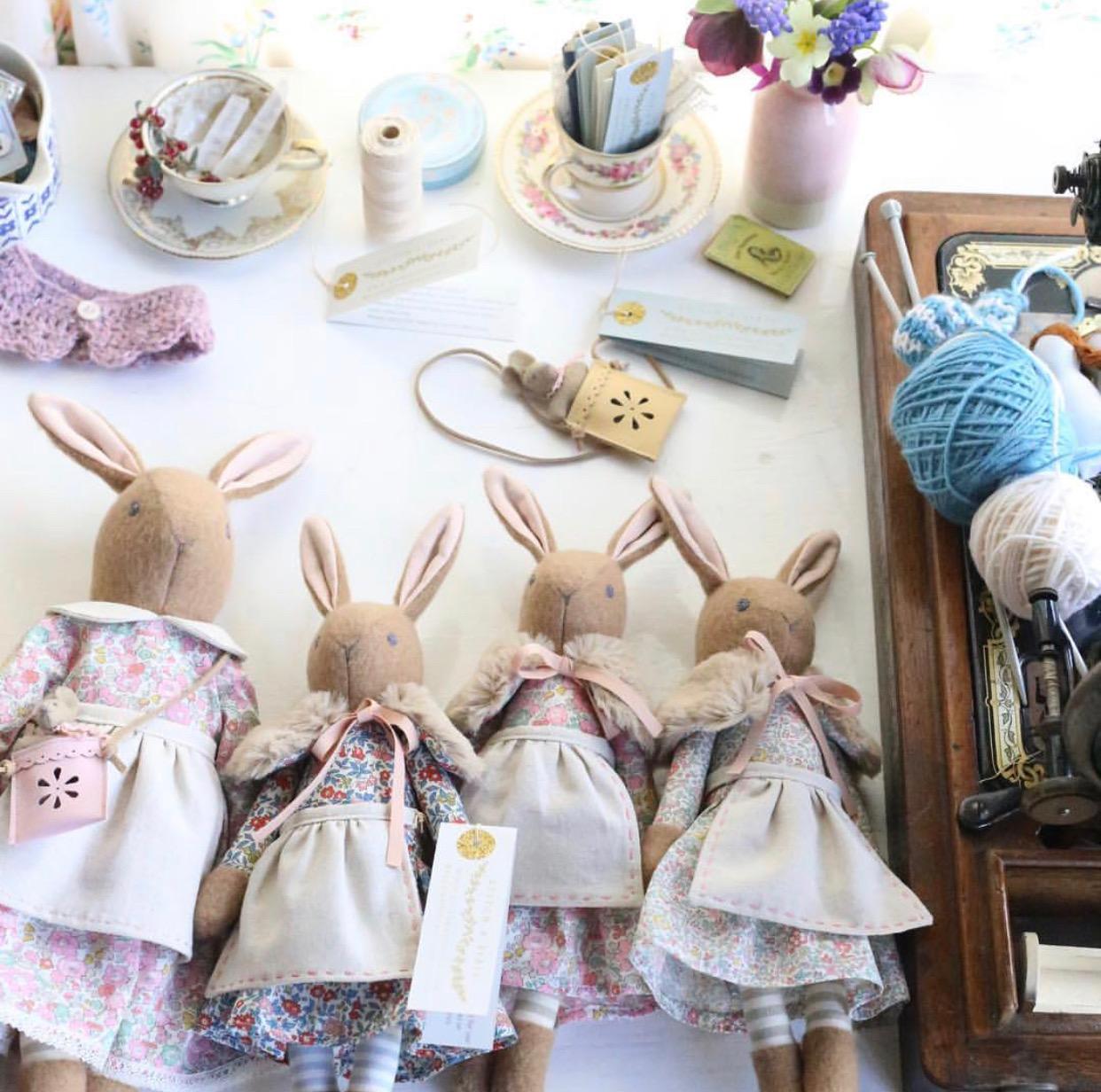 Exquisite heirloom dolls from @katylivings