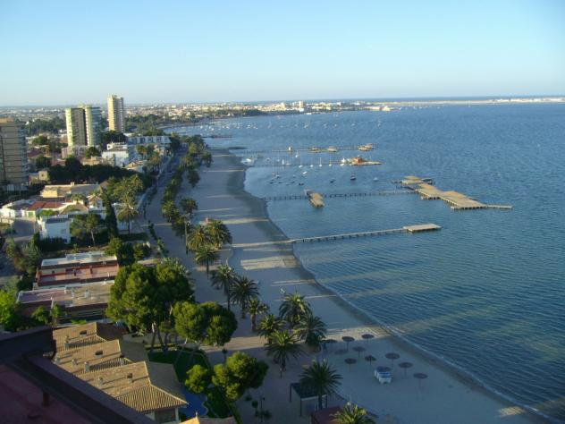 Santiago De La Ribera - The lovely Mar Menor town of Santiago de la Ribera comes under the municipality of San Javier and lies within the Murcia region of Spain on the Costa Calida.