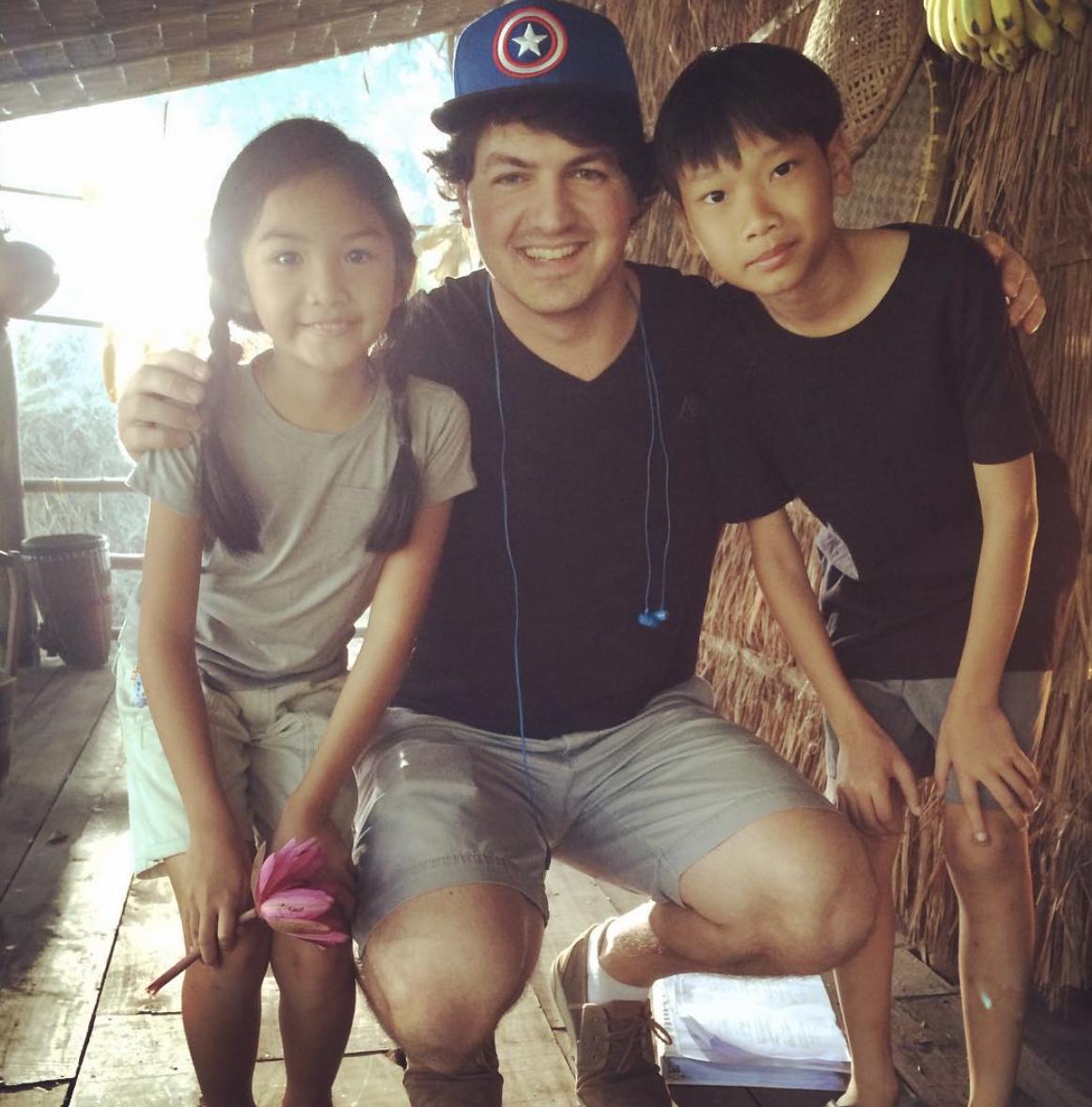 Daniel in Thailand in 2016