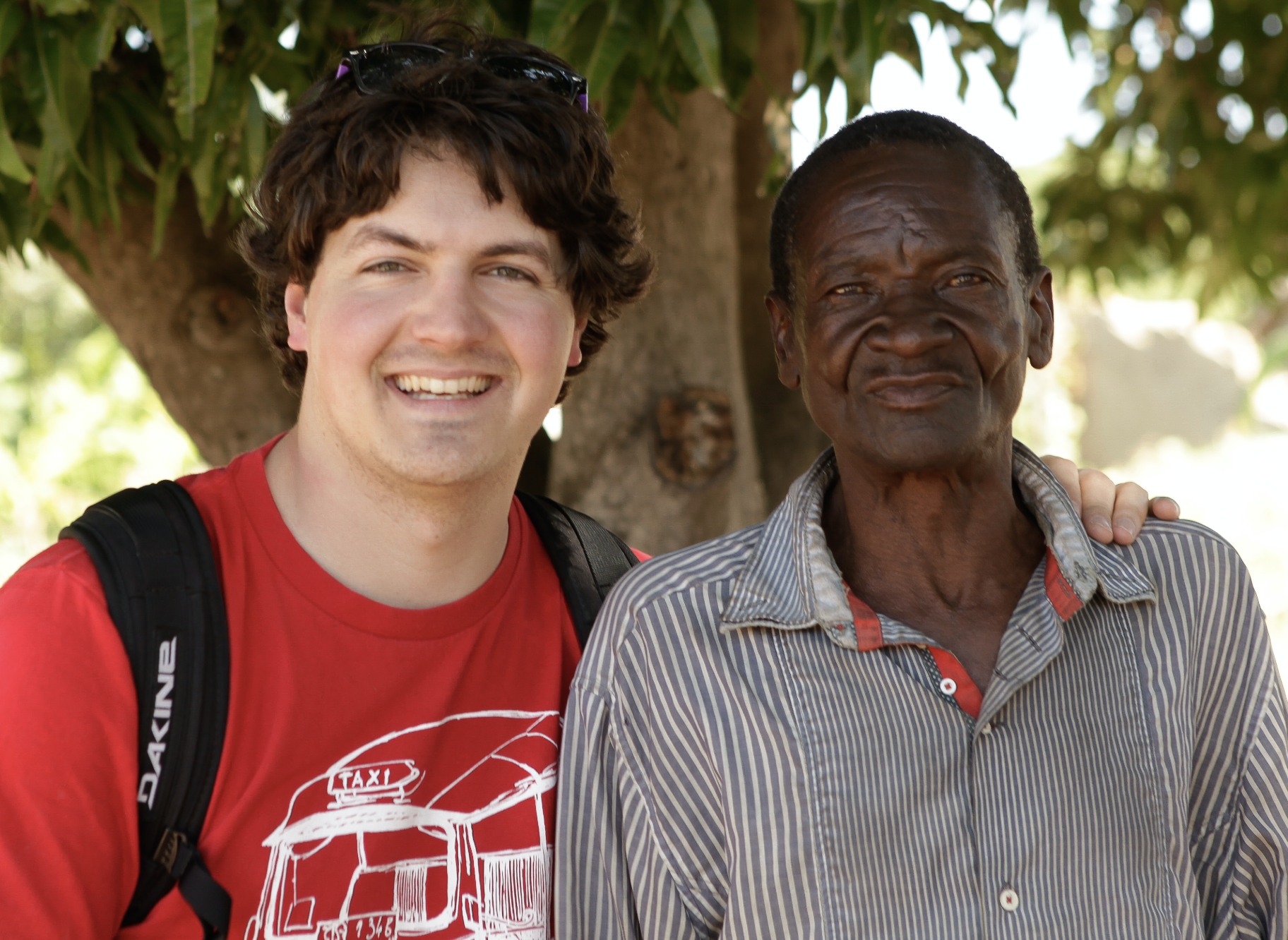 Daniel in Tanzania, 2018