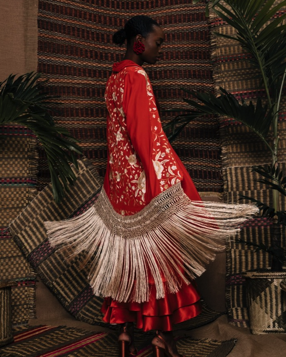 JOHANNA ORTIZ - A new favorite in the luxury market, Johanna Ortiz has taken her bold and voluminous signature pieces from Bogota to the White House. To pay homage to her heritage, she makes it a priority to work with indigenous communities and women in Colombia.Shop NowFollow on Instagram